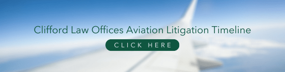 clifford law offices aviation timeline